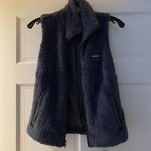 Women's Patagonia Navy Blue Fleece Vest Size Small